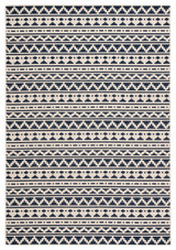Navy Killick Knot Catamaran Area Rug