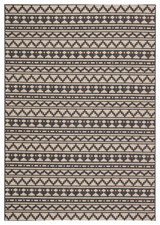 Dark Grey Killick Knot Catamaran Area Rug