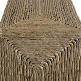 Aurora Woven Side Table close up