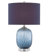 Ionian Ocean Blue Table Lamp 1