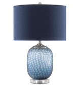 Ionian Ocean Blue Table Lamp 2