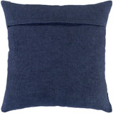 Monterey Sea Navy 20 x 20 Pillow back zipper