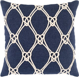 Monterey Sea Navy 20 x 20 Pillow