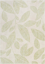 Green Leaf Bodrum Area Rug