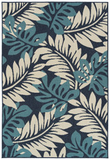 Blue Isle Palms Indoor-Outdoor Rug
