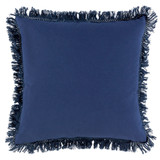 Castaway Nautical Fringed 20 x 20 Pillow back pillow view