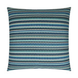 Indigo Stripes Luxury Coastal Pillow
