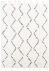 Monterey Sands Plush White Shag Rug