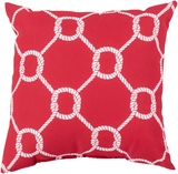 Mariner Red Knots Indoor-Outdoor Pillow