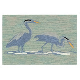 Blue Heron Lake Accent Rug