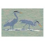 Blue Heron Lake Accent Rug