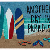 Another Day in Paradise Accent Rug close up