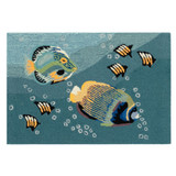 Tropical Aquarium Accent Rug