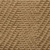 Natural Herringbone Design Jute Area Rug close up 1