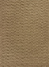 Natural Herringbone Design Jute Area Rug