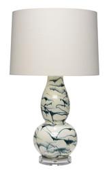 Eloyse Indigo Swirl Table Lamp