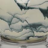 Eloyse Indigo Swirl Table Lamp close up
