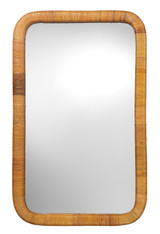 Kai Rattan Wrapped Mirror