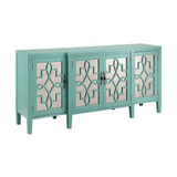 Tomales Sideboard Cabinet in Turquoise