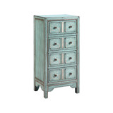 Evelyn Blue Apothecary Chest