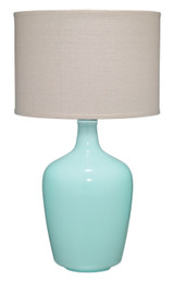 Plum Aqua Jar Table Lamp