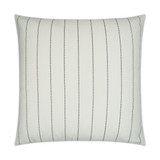 Malibu White 22 x 22 Lux Outdoor Pillow