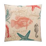 Carolina Coastal Resort Pillow