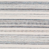 Azores Sea Striped Woven Rug close up pattern