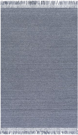 Azores Quarry Grey Braided Woven Rug main image