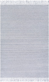 Azores Vapor Grey Braided Woven Rug main image