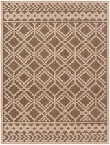 Montego Bay Driftwood Lattice Rug