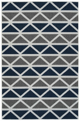 Nautical Pennant Indoor-Outdoor Area Rug