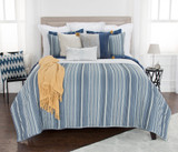 Ebb Tide Striped 3-Piece Quilted Set