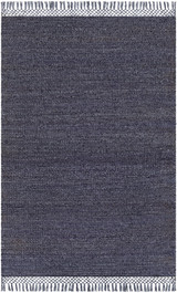 South Harbor Navy Blue Jute Area Rug