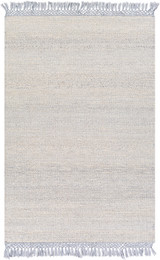 South Harbor Pale Blue Jute Area Rug