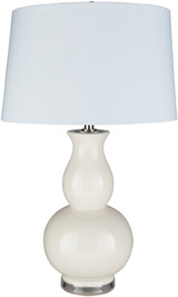 Devon By the Sea White Table Lamp