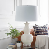 Devon By the Sea White Table Lamp room view