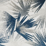 East Cay Palm Luxury Pillow close up fabric