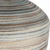Seaside Striped Accent Lamp close up stripes