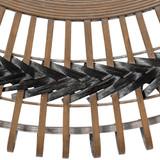 Bamboo Grove Braided Mirror close up image