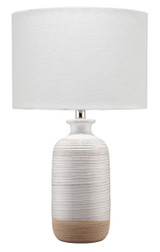 Dune Textured Ashwell Table Lamp
