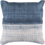 Laguna Denim Hand-Woven Pillow 1