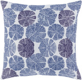 Azora Shell Blue 20 x 20 Pillow