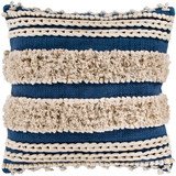 Helena Navy Tufted 20 x 20 Pillow