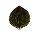 Riviera Hydrangea Leaf Plate - Forest