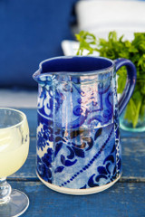 Lisboa Handled Serving Pitcher table example