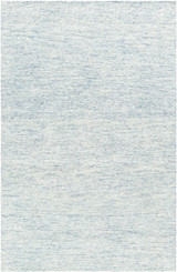 Pale Denim Strada Wool and Viscose Rug