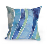 Ocean Waves Indoor-Outdoor 20 x 20 Pillow