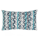Ocean Braided Stripe Indoor-Outdoor 12 x 20 Pillow