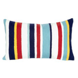 Riviera Stripe Indoor-Outdoor Multi 12x20 Pillow